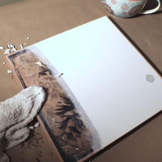 развлечений перевод картинки с бумаги на дерево нажмите
