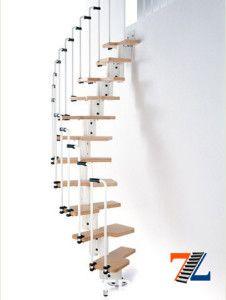 Деревянные ступени на металлических элементах