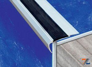 Алюминиевый профиль с резиновой вставкой