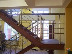 Перила для лестниц из анодированного алюминия