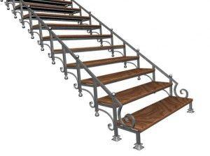Элегантные ступеньки для небольших лестниц