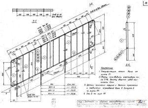 Схема расчетов высоты ограждений