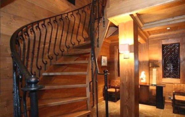 Лестница в стиле кантри