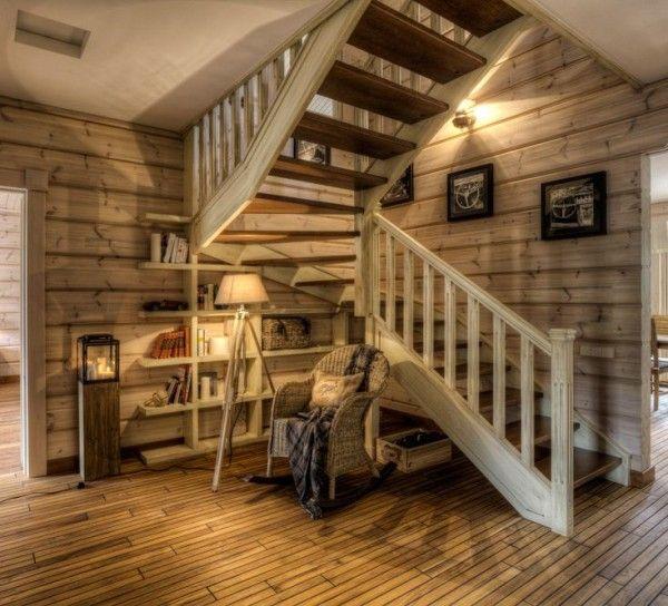 Лестница в стиле вестерн