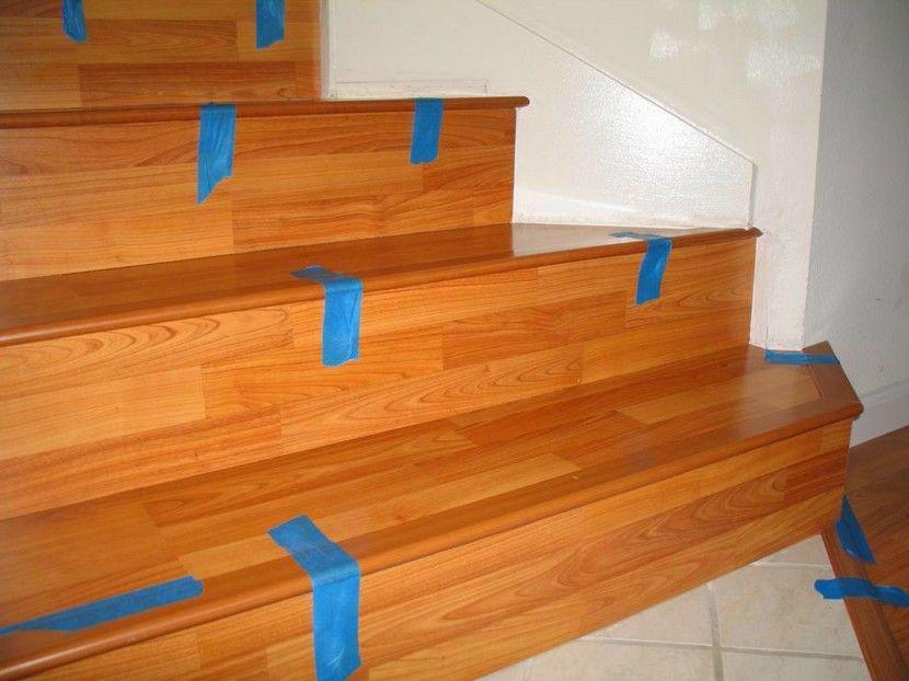 Как отделать лестницу ламинатом своими руками