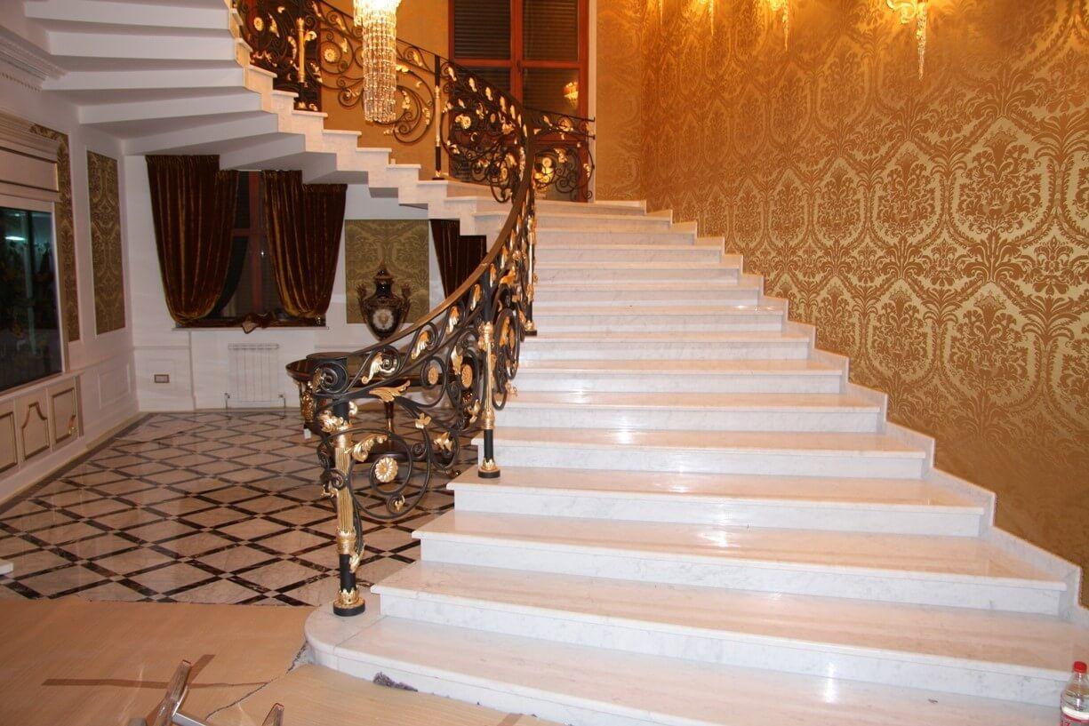 Украшение вашего жилища – изысканная лестница