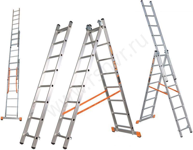 Три секции одной лестницы