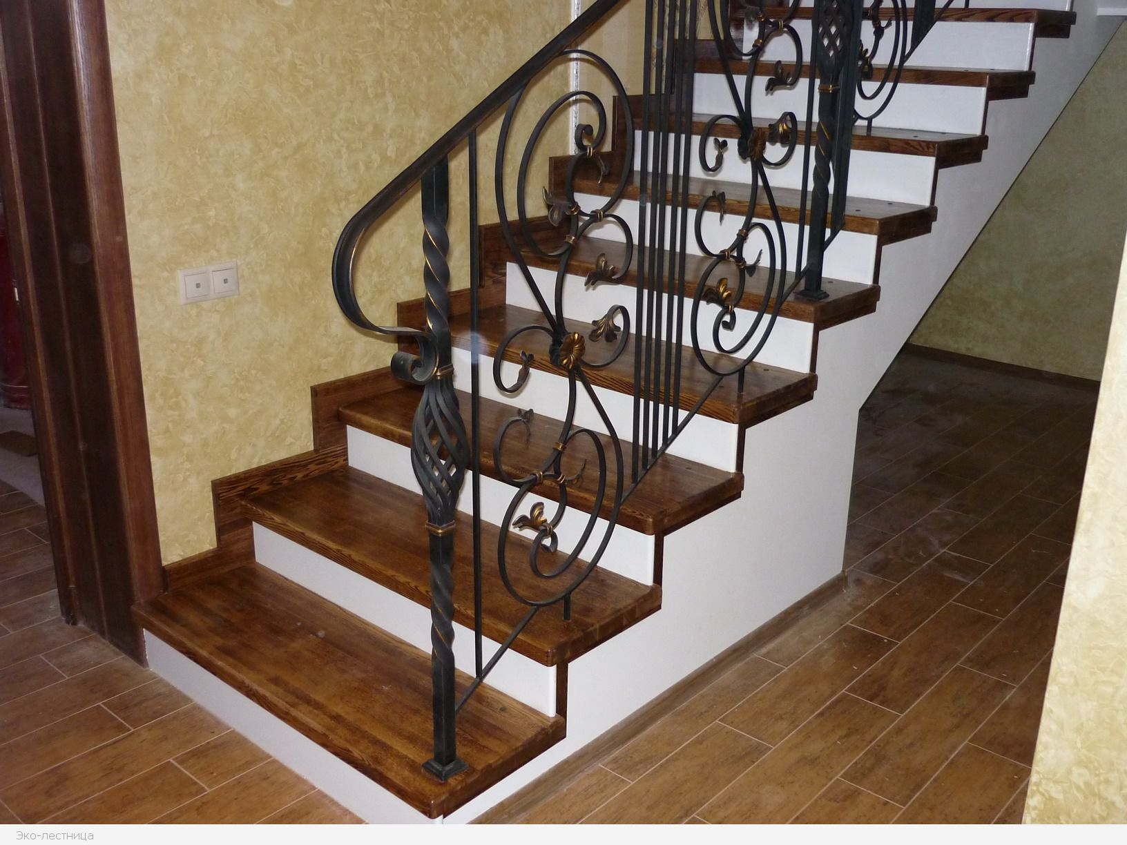 Наряд вашей лестницы: материалы для облицовки