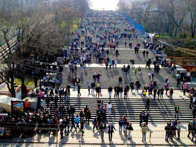 Концерт на Потёмкинской лестнице