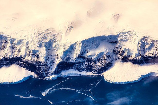 Лестница в Антарктиде