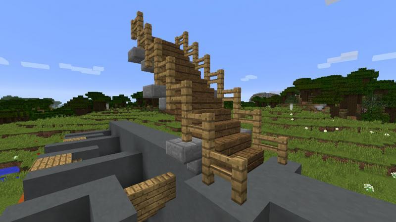 Лестница в Майнкрафте