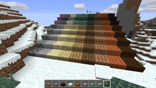 Лестницы из полублоков
