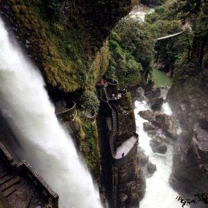 Лестница к водопаду дьявола