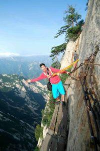 Небесная лестница на гору Хуашань