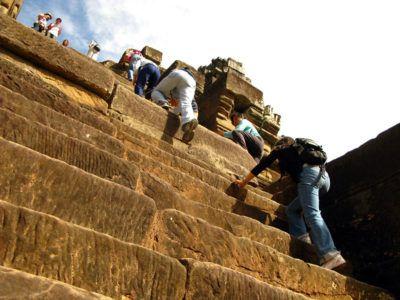 Лестница в Ангкор Ват