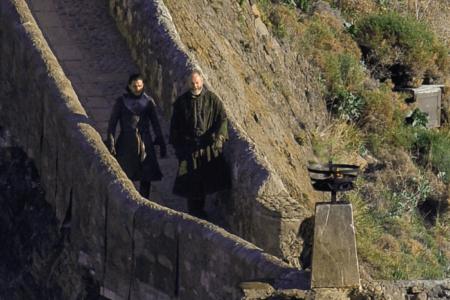Актёры «Игры престолов» на Сан-Хуан-де-Гастелугаче