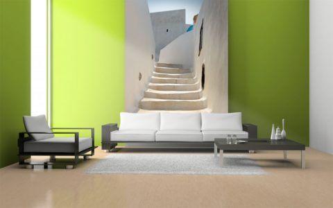 Расширение пространства комнаты с помощью фотообоев