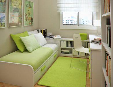 Оформление узкой комнаты для подростка