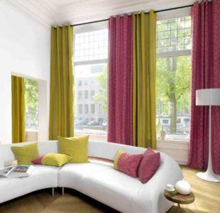 шторы разноцветные