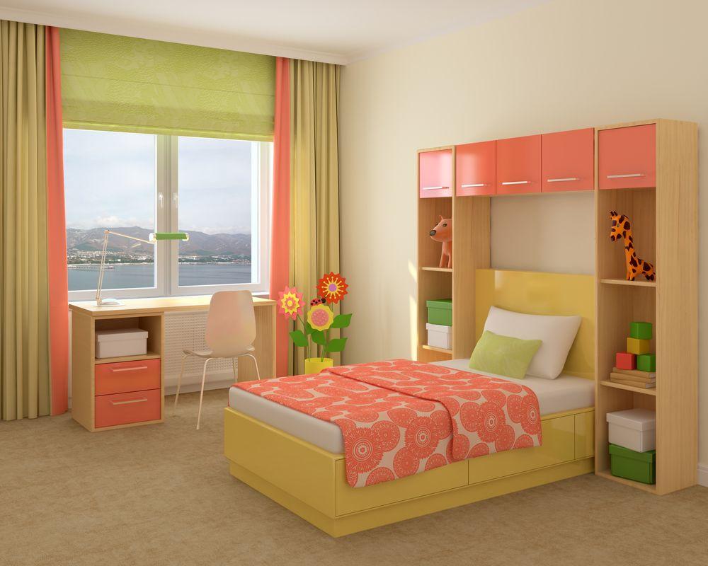 Яркая и уютная комната для ребёнка