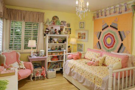Небольшая комната для девочки