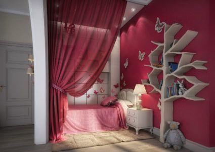 Современный стиль в дизайне детской комнаты