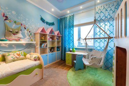 Декорирование комнаты для ребёнка