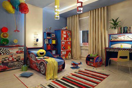 Оформление оригинальной детской комнаты для мальчика
