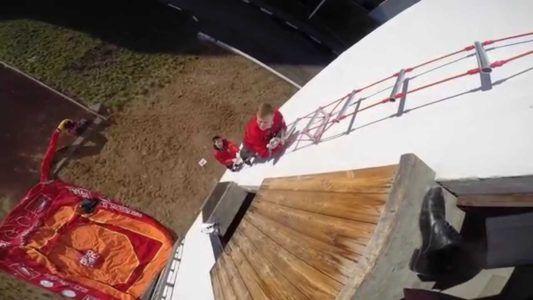 верёвочная лестница для спасателей