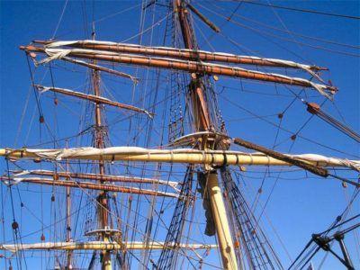 лестница на корабле