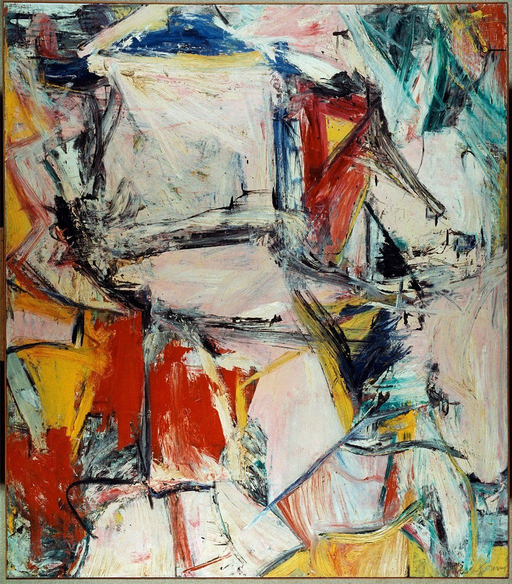 Interchange, Willem de Kooning