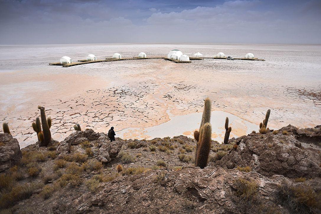 Kachi Lodge на соляных равнинах