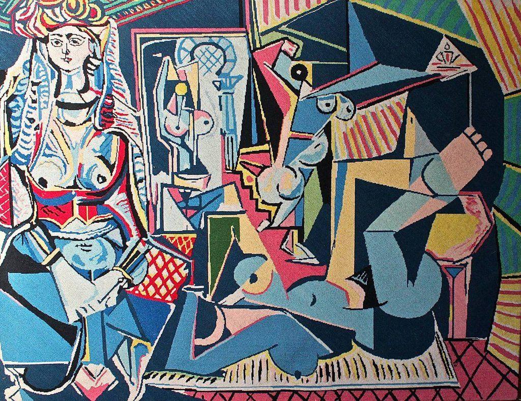 Les Femmes d'Alger (Версия), Picasso