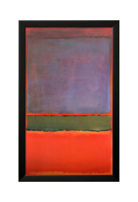 No:6 (Фиолетовый, зеленый и красный), Mark Rothko