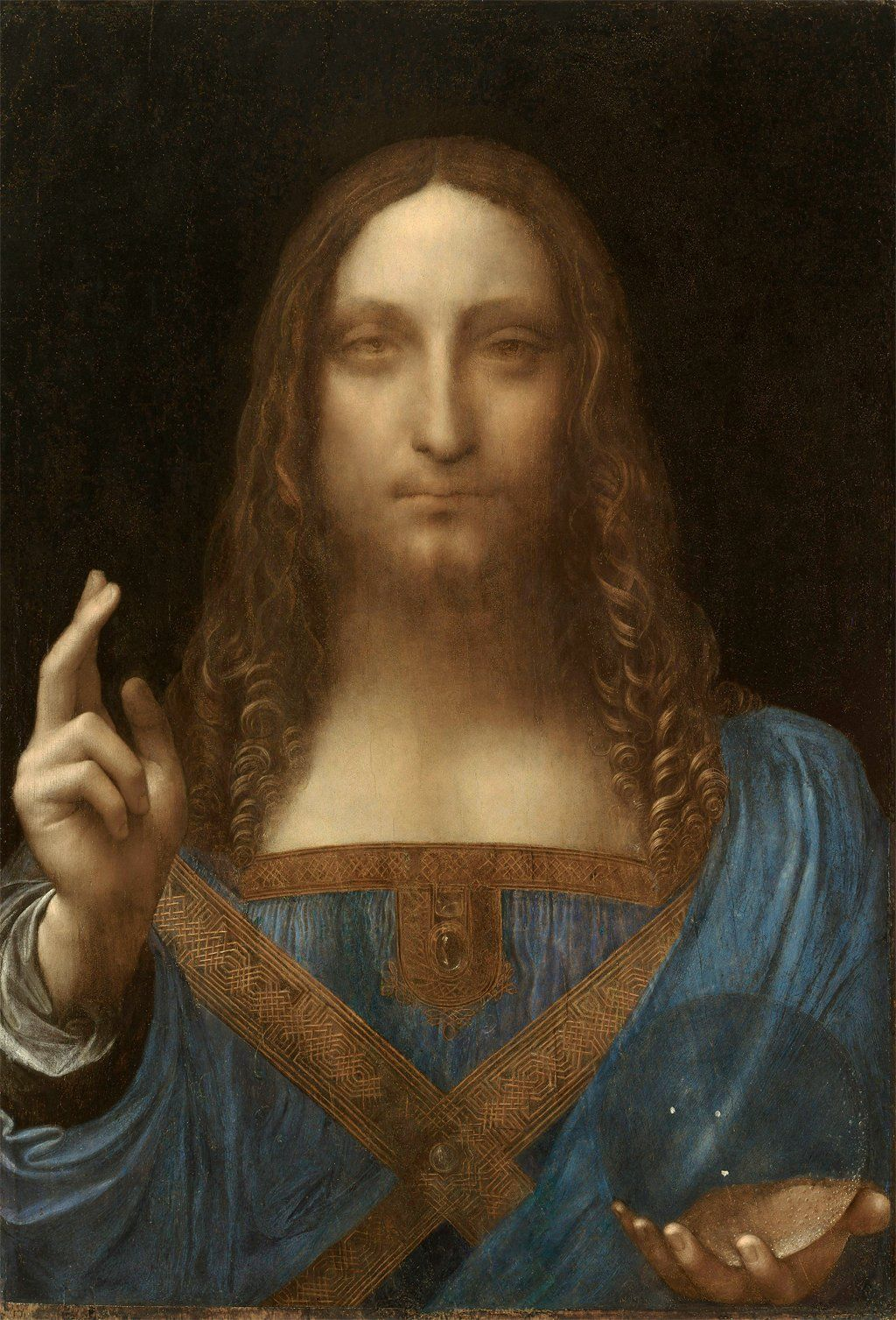 Salvator Mundi, attributed to Leonardo da Vinci
