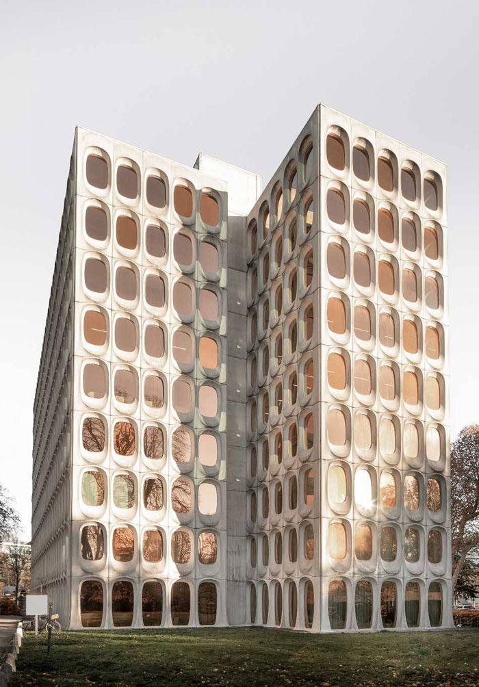 Здание с коворкингом