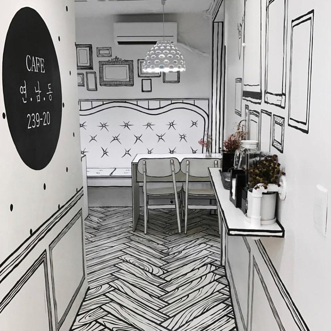 2D кафе