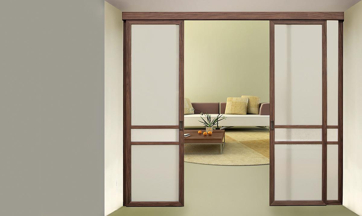 Раздвижные перегородки: разновидности, дверная конструкция и монтаж  межкомнатной двери купе в комнате