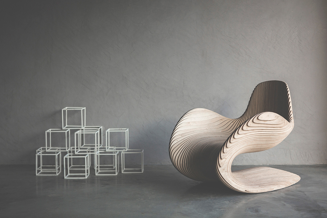 Дизайнерский стул Betula
