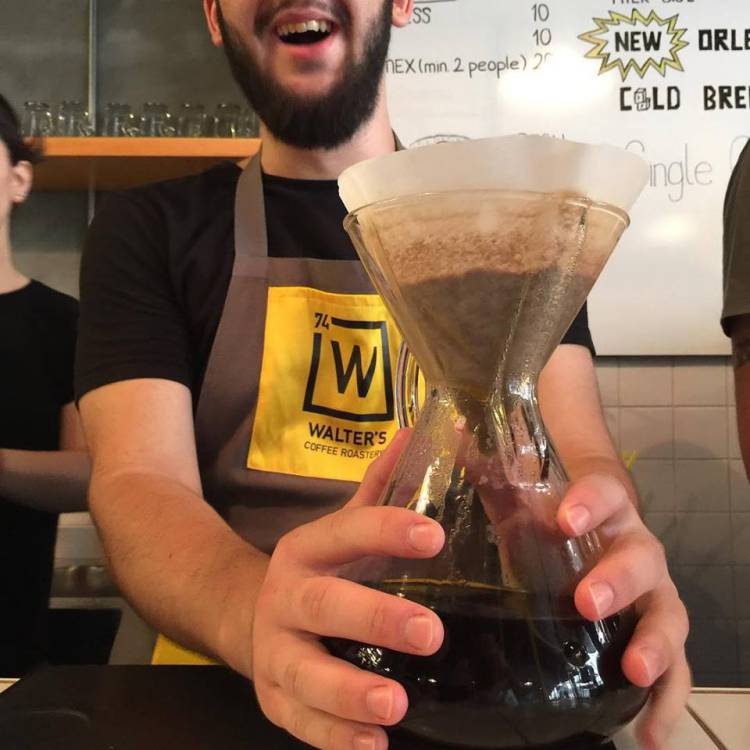 Кофе в кофейне