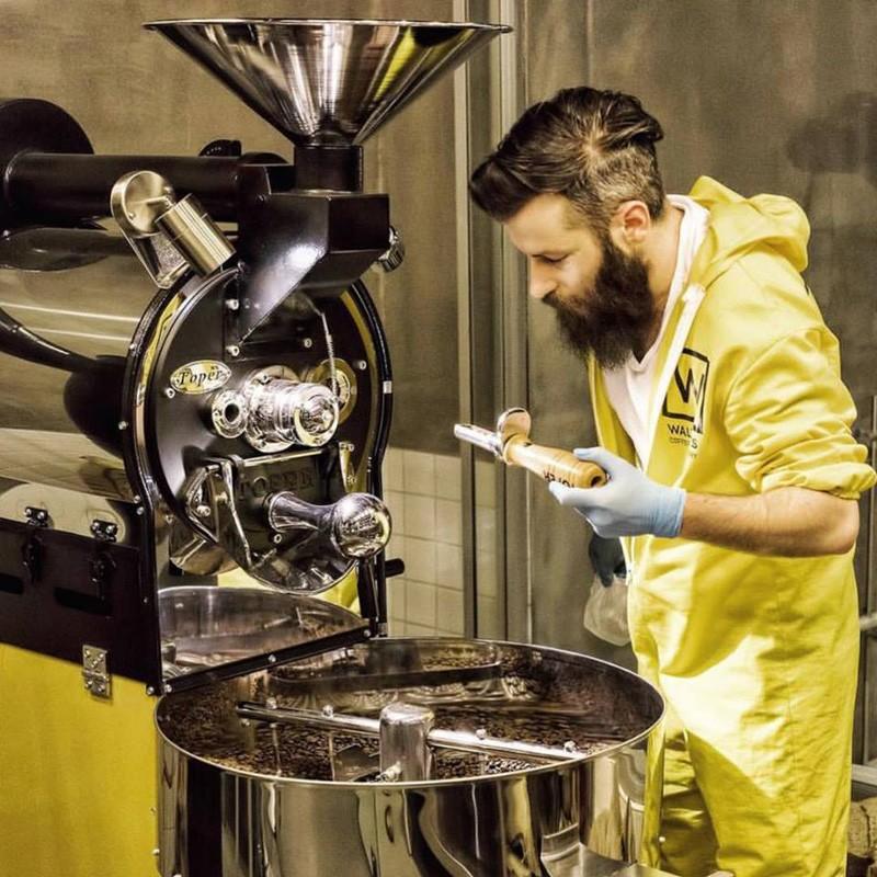 Оборудование кофейни в лабораторном стиле
