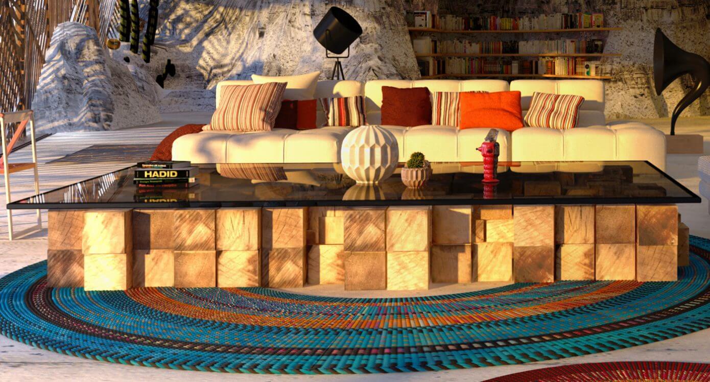 Стол в Доме Мугу