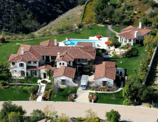 Красивый дом Джастина Бибера