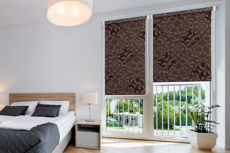 Жалюзи шторы на пластиковые окна фото