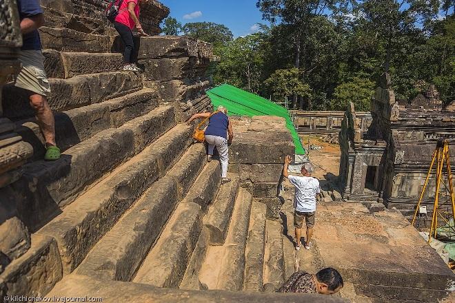 Лестница Ангкор - Ват