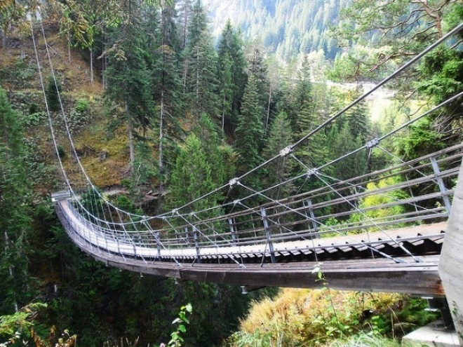 Лестница - мост (Швейцария)