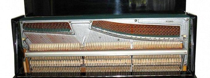 Движущиеся детали пианино