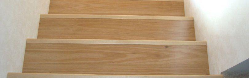 Декоративные и практичные ступени из ламината