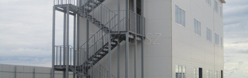Пожарная лестница и ее обслуживание