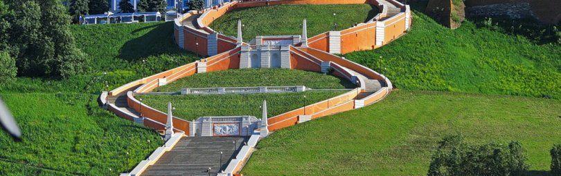 Которая длиннее: Потемкинская лестница, Чкаловская или на Мамаев Курган?